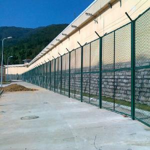 金属隔离网-监狱围墙外侧隔离网技术参数