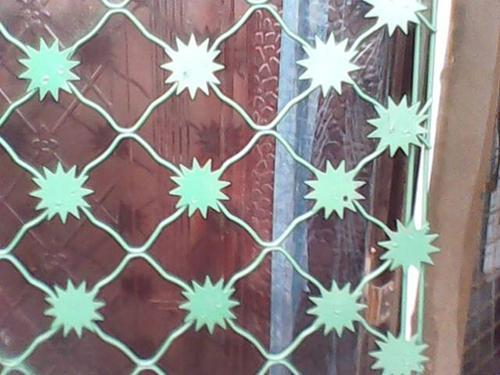 梅花刺片护栏网