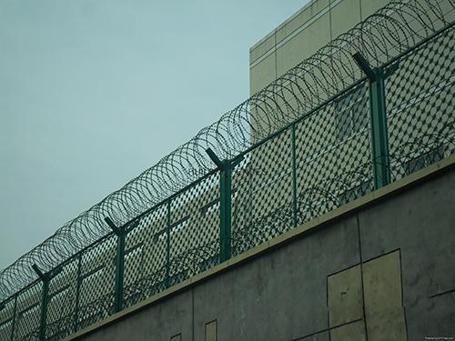 监狱钢网墙1