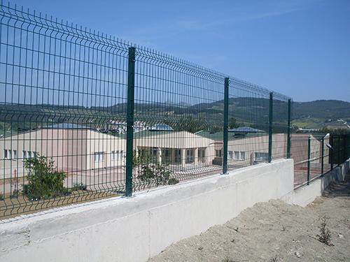 厂区桃型柱护栏