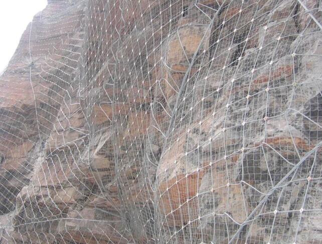 主动防护网施工条件及技术标准