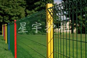 桃形柱护栏网图片展示